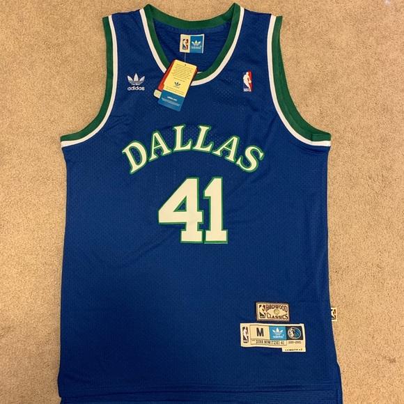 Dirk Nowitzki Dallas mavericks adidas Jersey nba